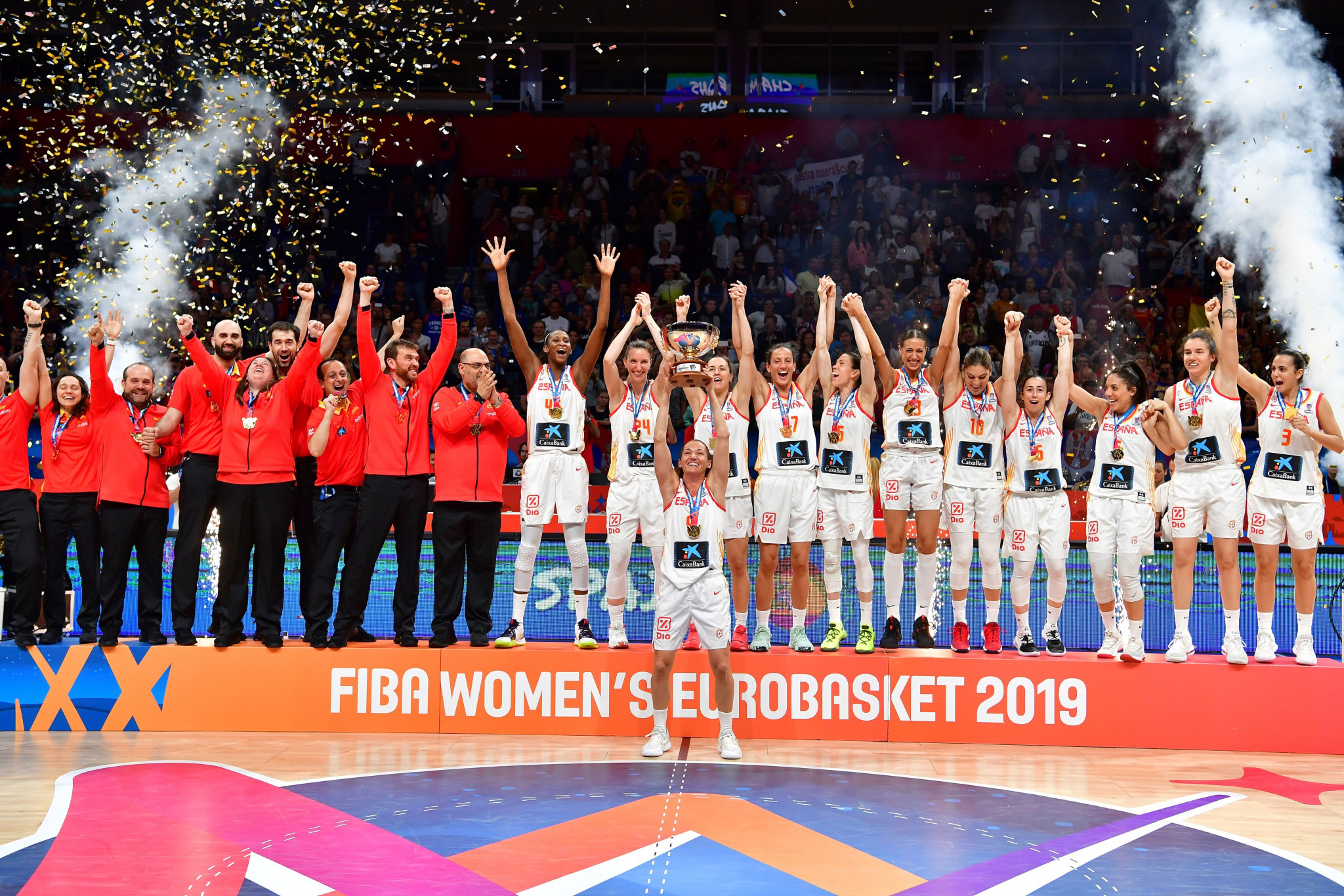 Spain thrash France to clinch second straight FIBA Women's EuroBasket title