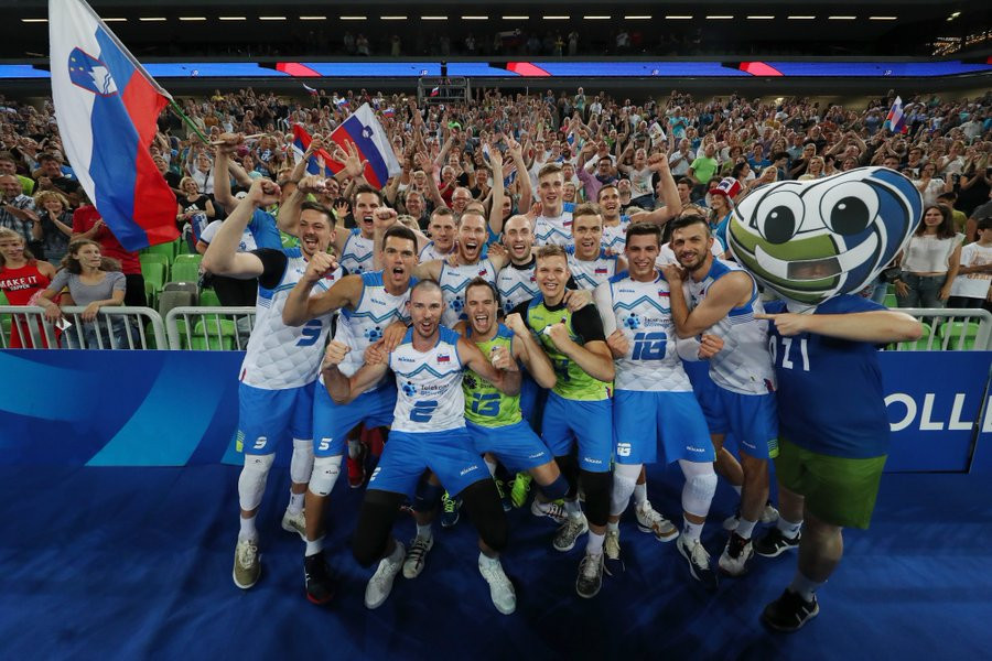 Slovenia defeat Cuba to earn FIVB Men's Nations League spot