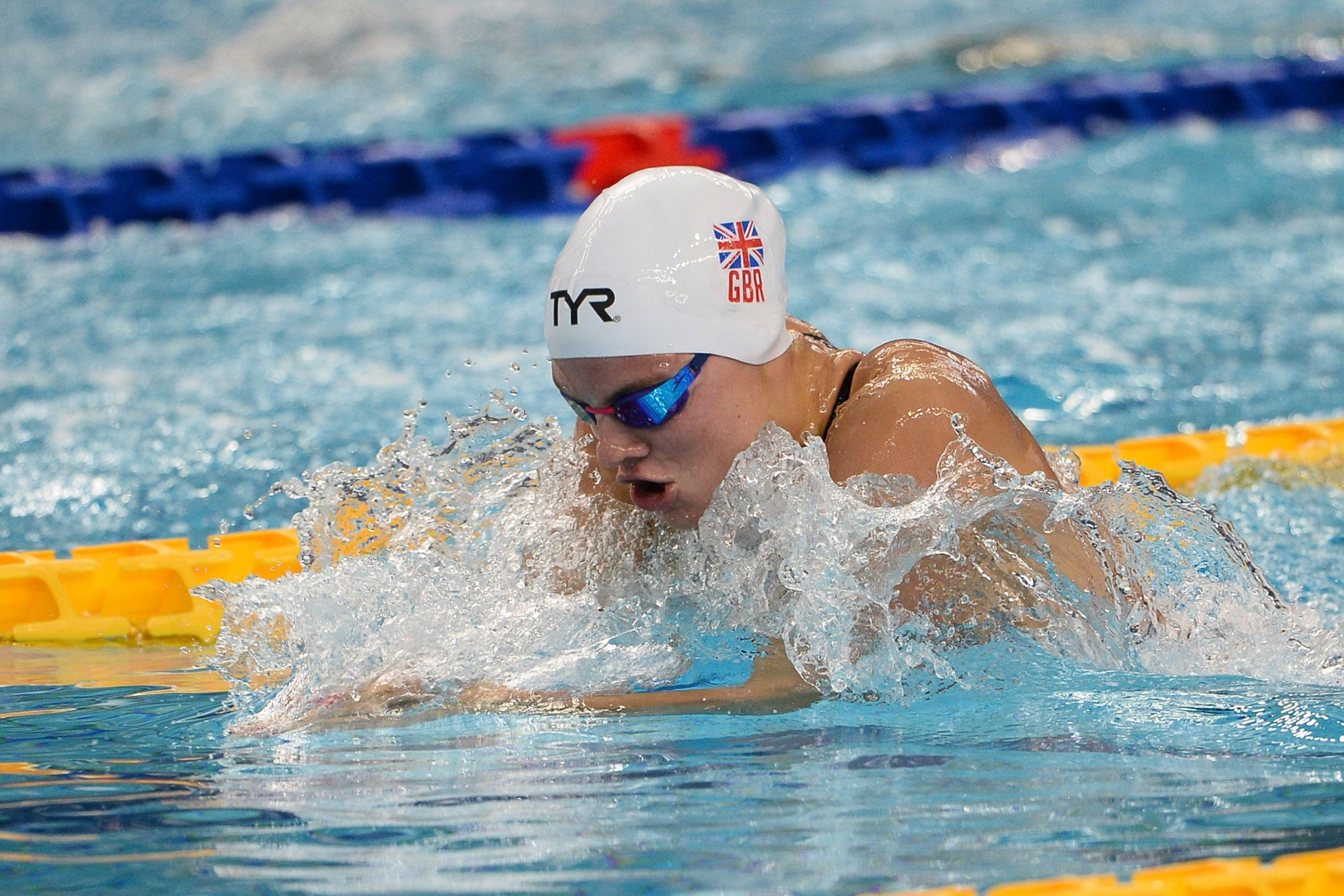 Britain's Alicia Wilson won her country's first Summer Universiade gold since 2015 as she took the women's 200m individual medley title ©Naples 2019