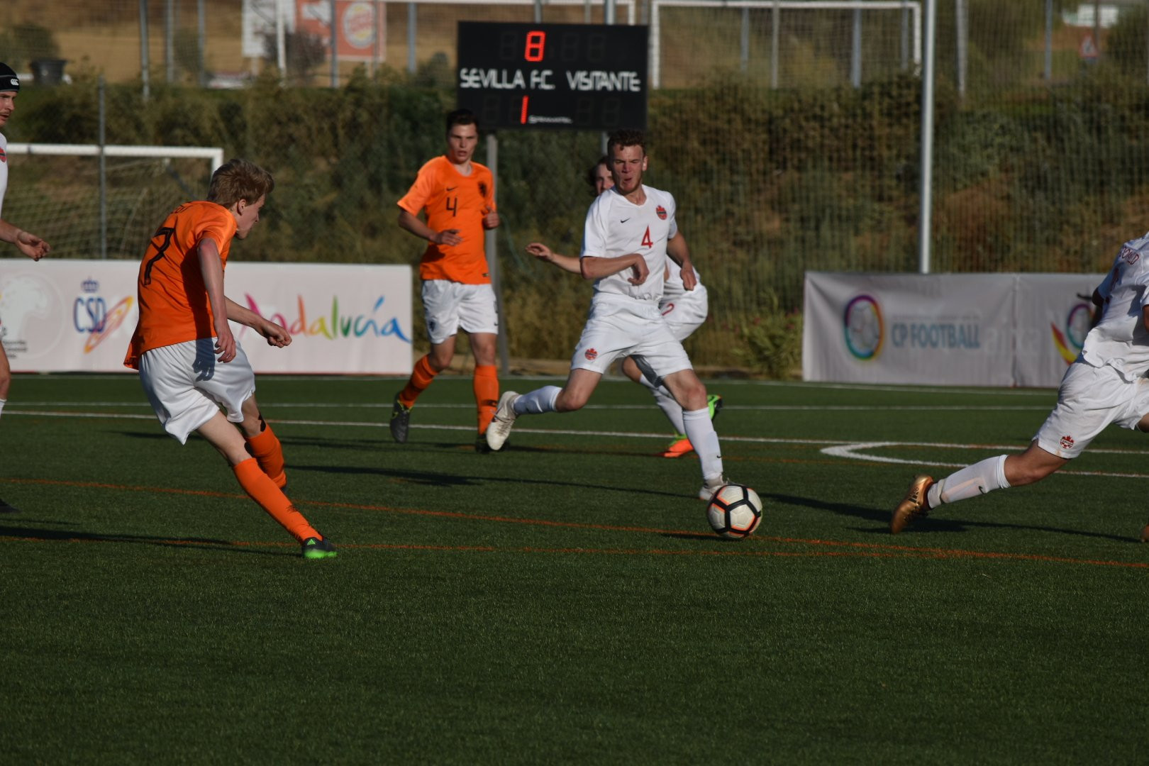 Netherlands won their opening game of the IFCPF World Cup ©IFCPF/Twitter