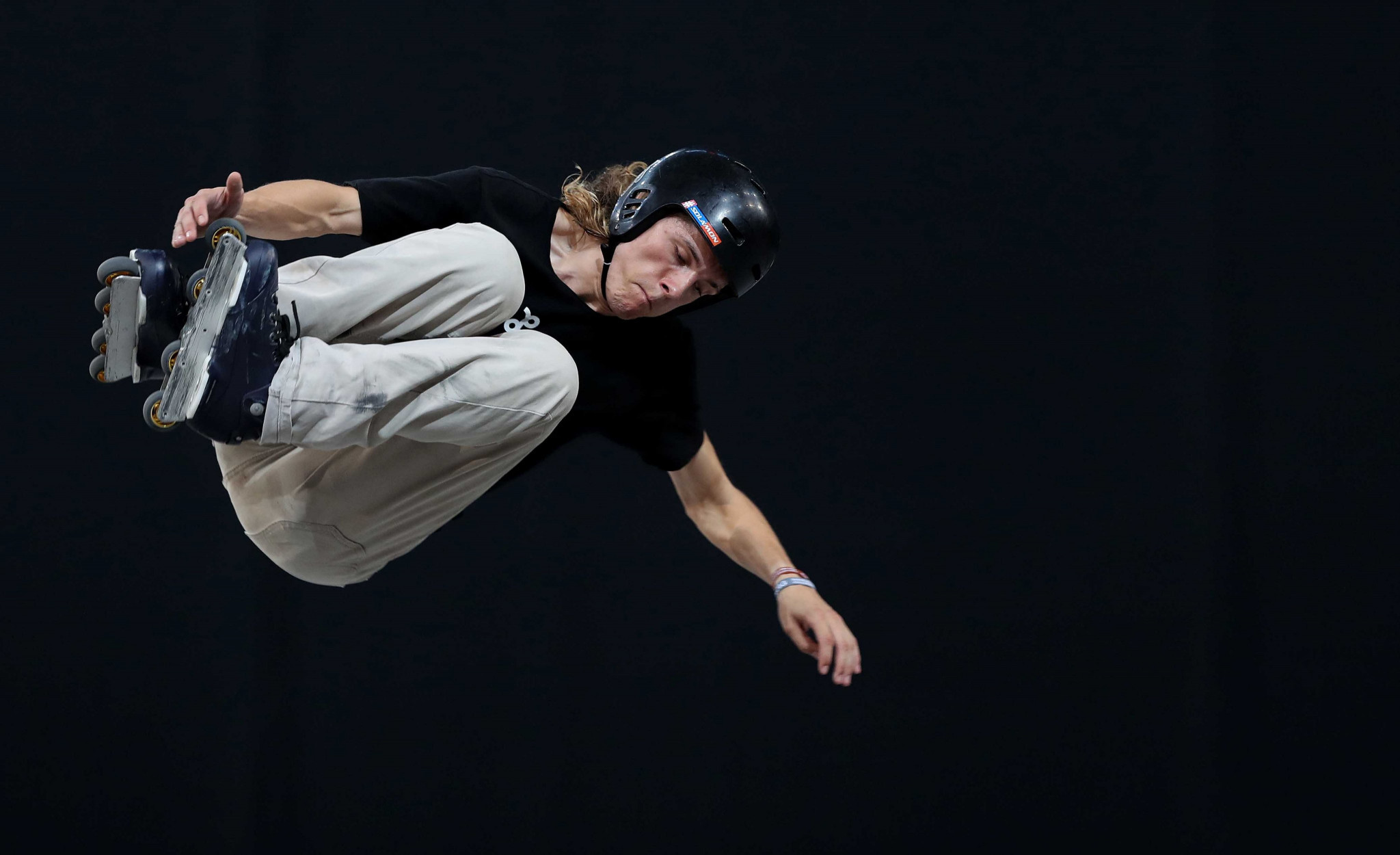 Joe Atkinson topped the standings in the roller freestyle ©M. Casanova/WRG
