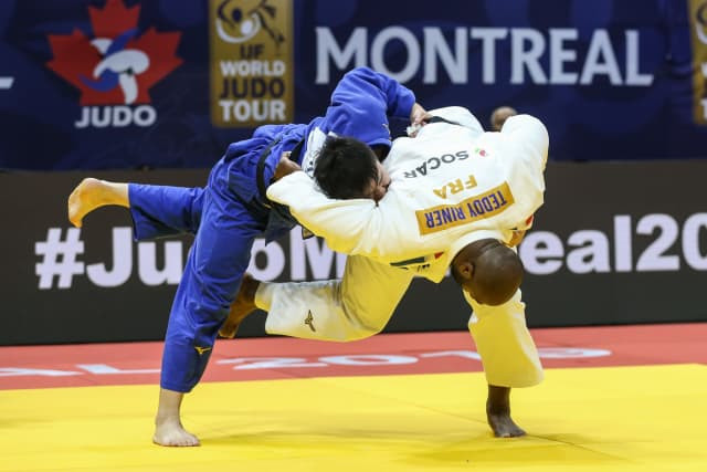 Riner victorious as double Olympic champion makes long-awaited return to judo at Montreal Grand Prix