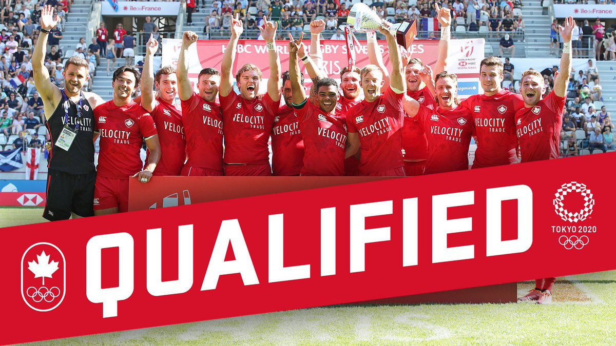 Canada's men win Rugby Americas North Sevens to qualify for Tokyo 2020
