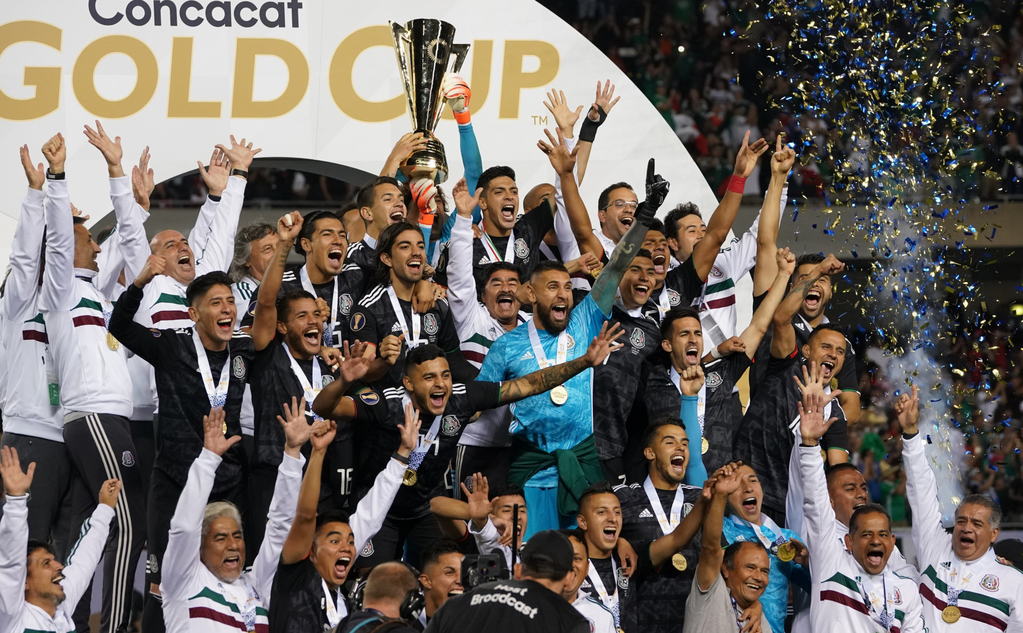 Mexico beat the United States to win the Gold Cup for the 11th time ©Getty Images