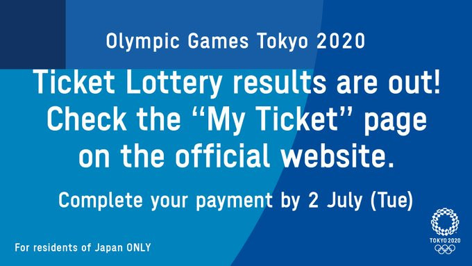 Tokyo 2020 to hold additional Olympic ticket lotteries after 3.2 million sold in first ballot