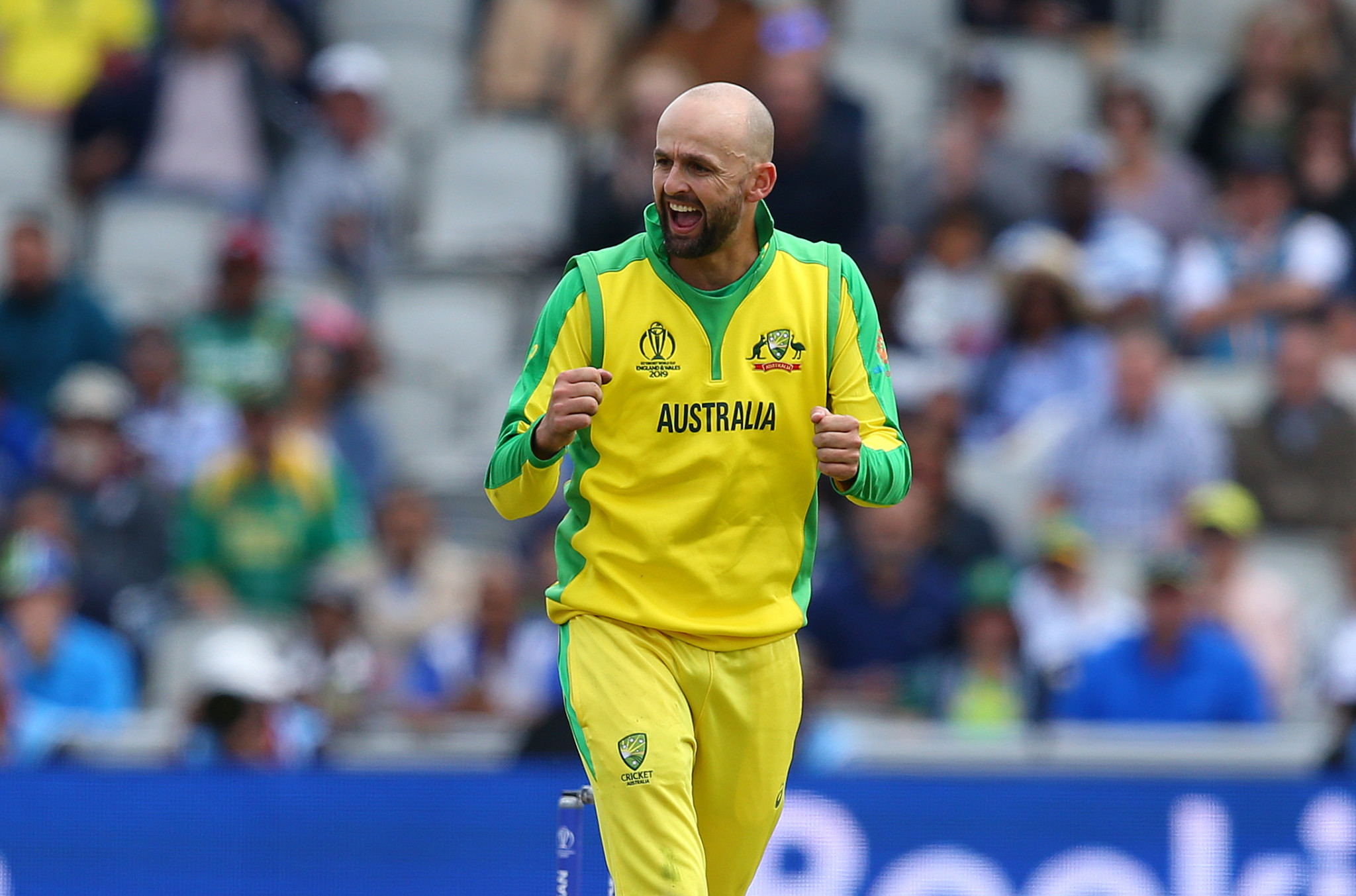 Australia spinner Nathan Lyon has claimed the Cricket World Cup is England's to lose ahead of their semi-final ©Getty Images