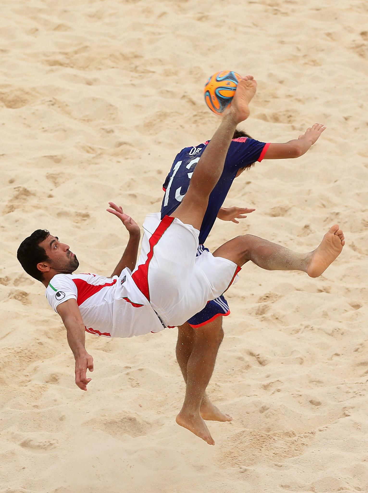 Iran names men's beach soccer team for 2019 ANOC World Beach Games