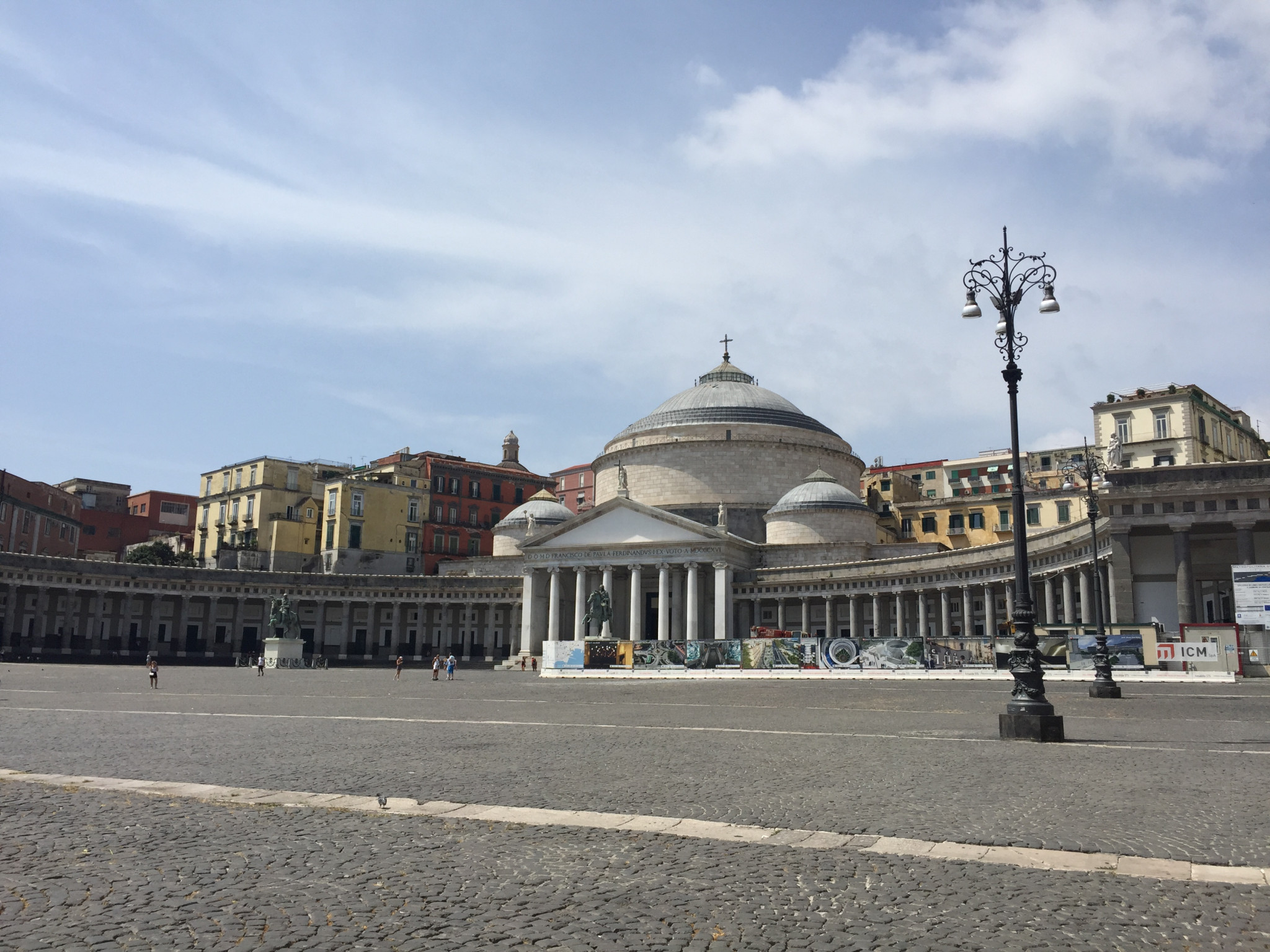 Piazza del Plebiscito had been scheduled to host the Summer Universiade's Closing Ceremony ©ITG