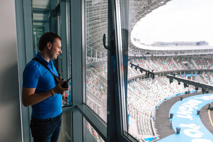 Minsk-based IT company Synesis Sport oversaw soft technologies used with success at the European Games ©Minsk 2019