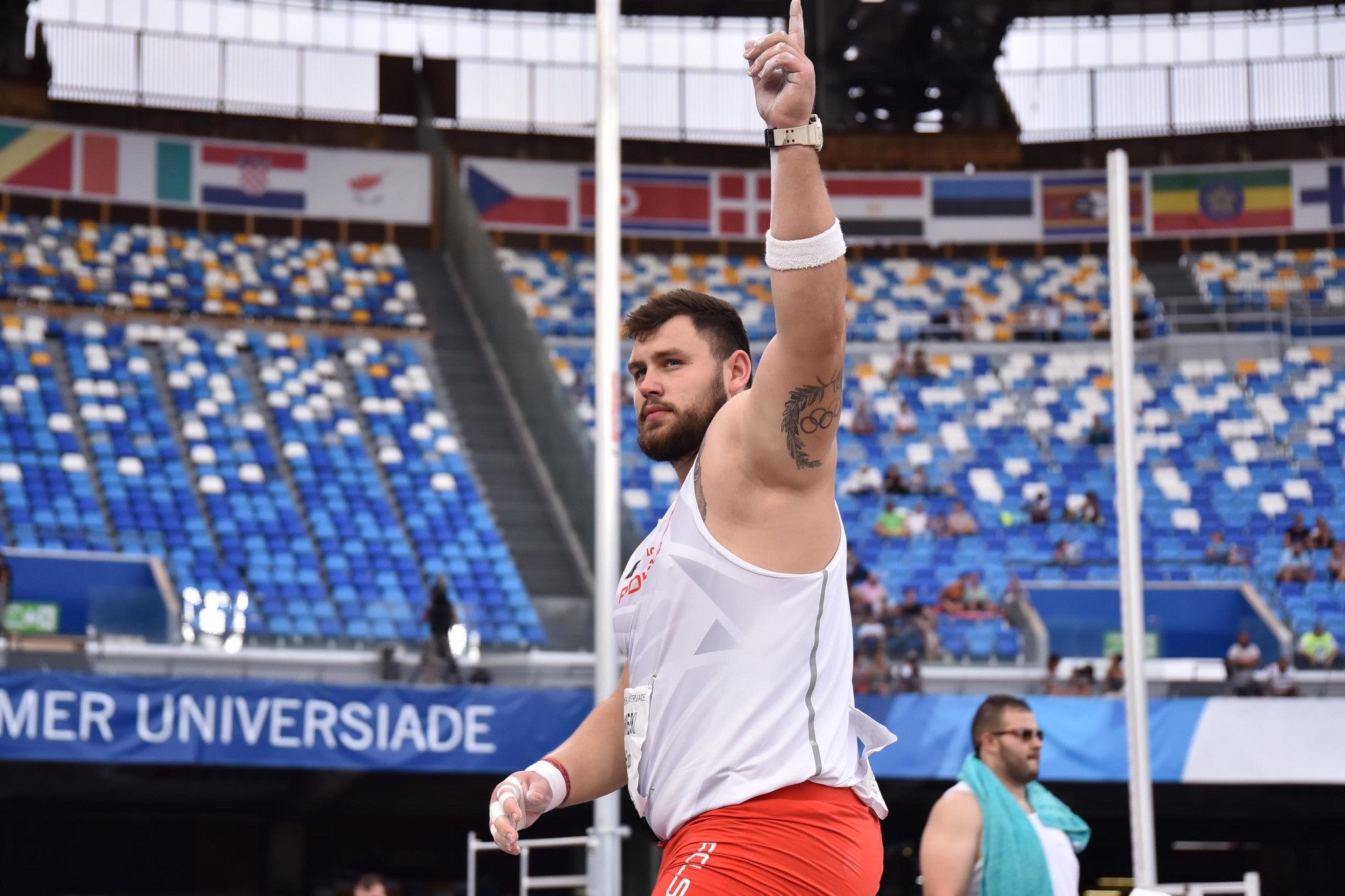 Bukowiecki smashes Universiade shot put record as athletics gets under way at Naples 2019