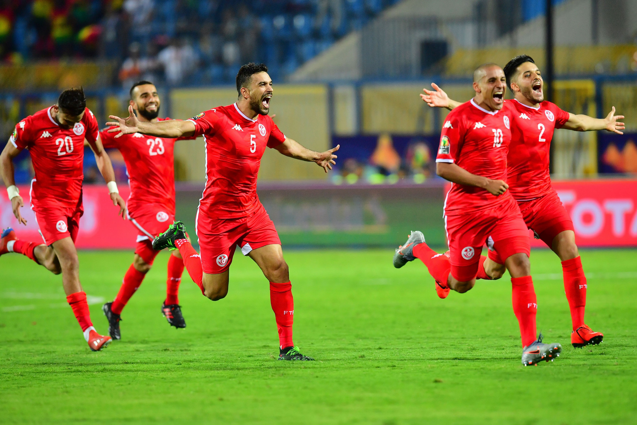 Injury-time equaliser and penalty shootout see Tunisia into Africa Cup of Nations quarter-finals
