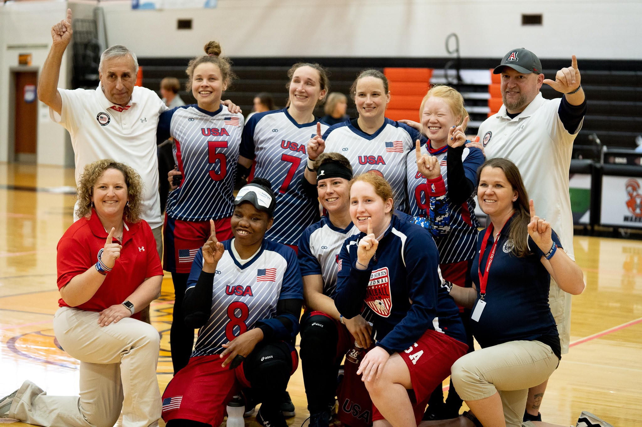 Hosts United States booked their Paralympic spot in the women's tournament ©IBSA