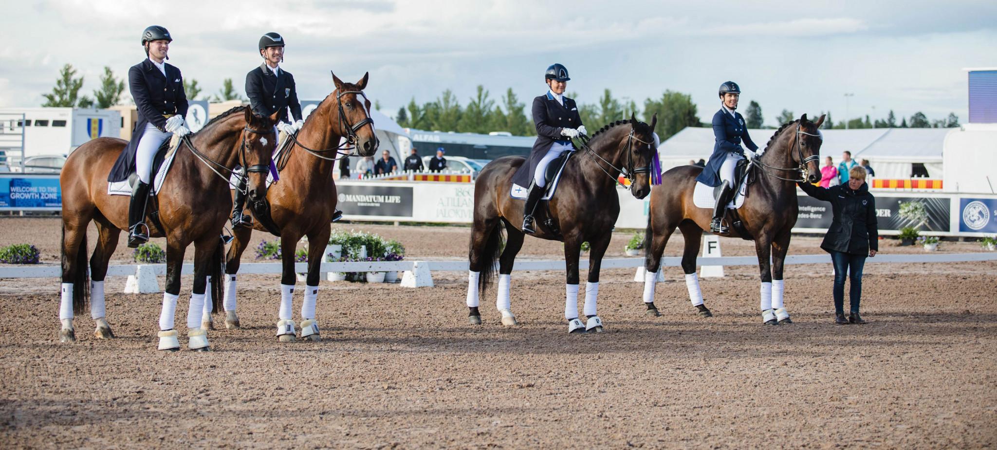 Sweden edge Finland as FEI Dressage Nations Cup season continues in Järvenpää