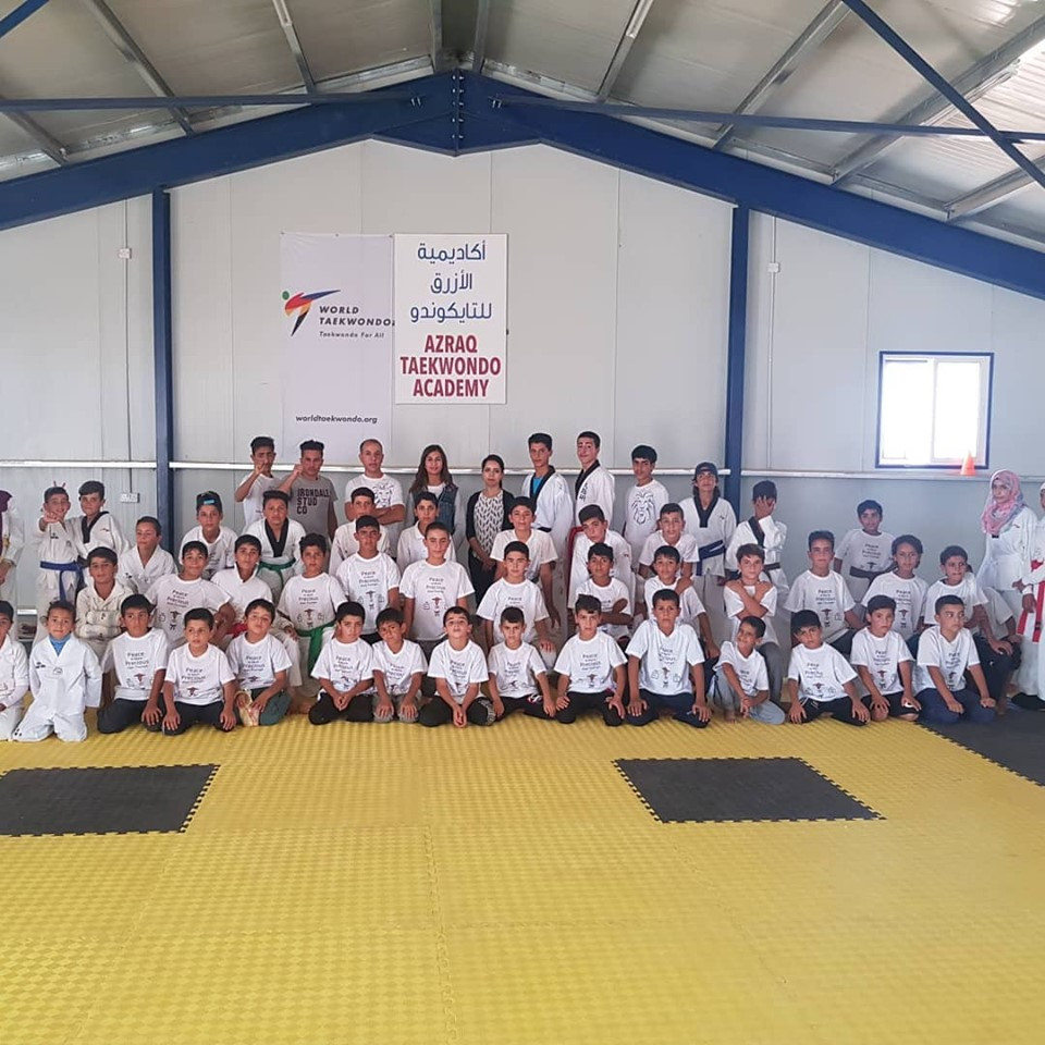 THF speaks of admiration for Azraq Taekwondo Academy and claims future is bright