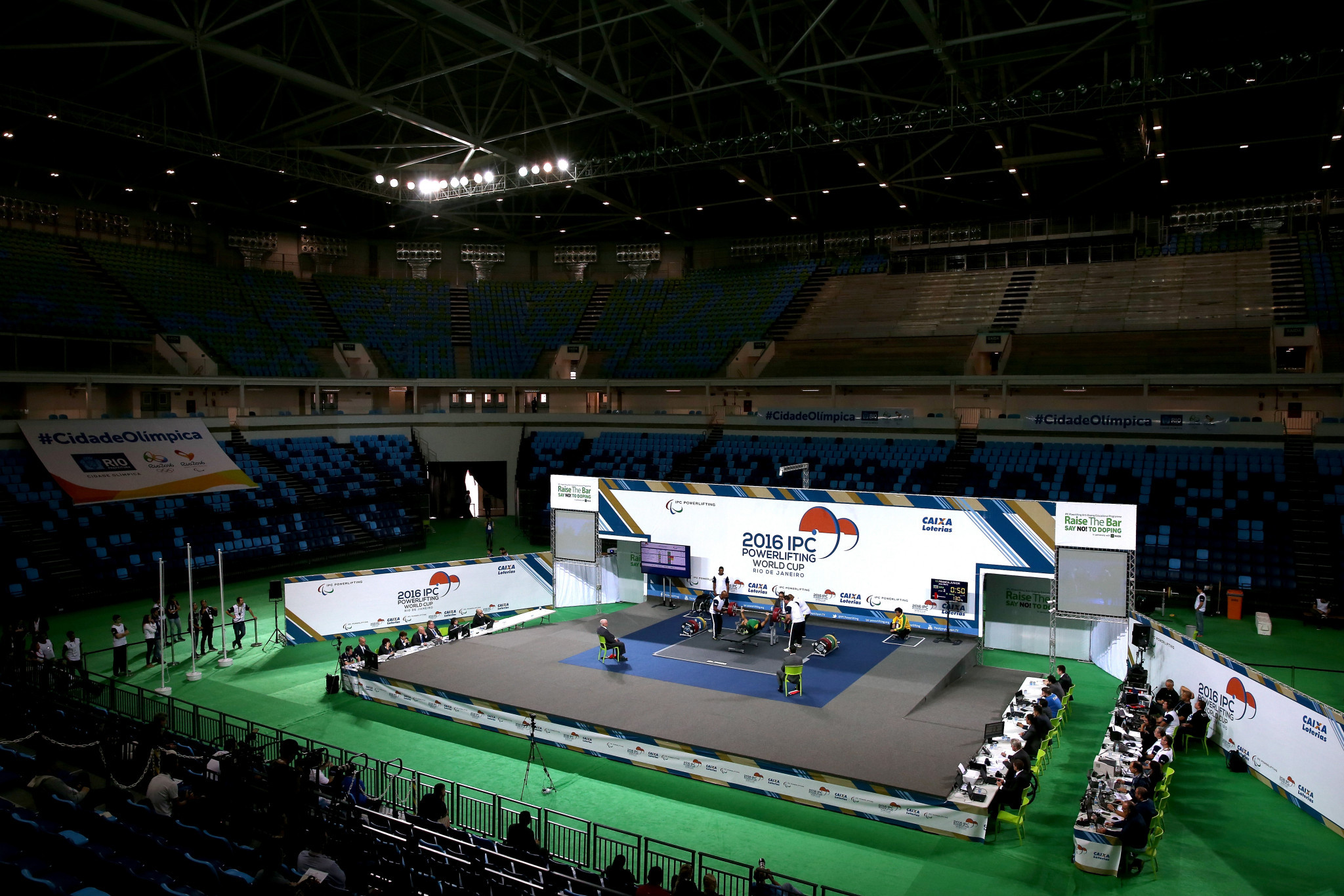 Powerlifting has a reputation for being the dirtiest sport on the Paralympic programme ©Getty Images