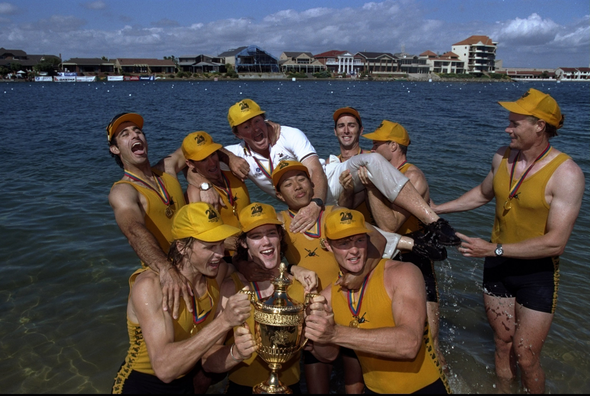 The late Nick Garratt was responsible for coaching Western Australia to a memorable King's Cup victory in 1999 in West Lakes in South Australia ©Getty Images
