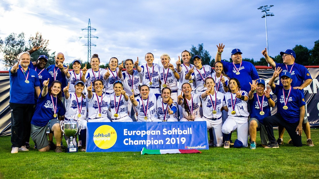 Italy triumphed at the recently-concluded Women's Softball European Championship ©WBSC