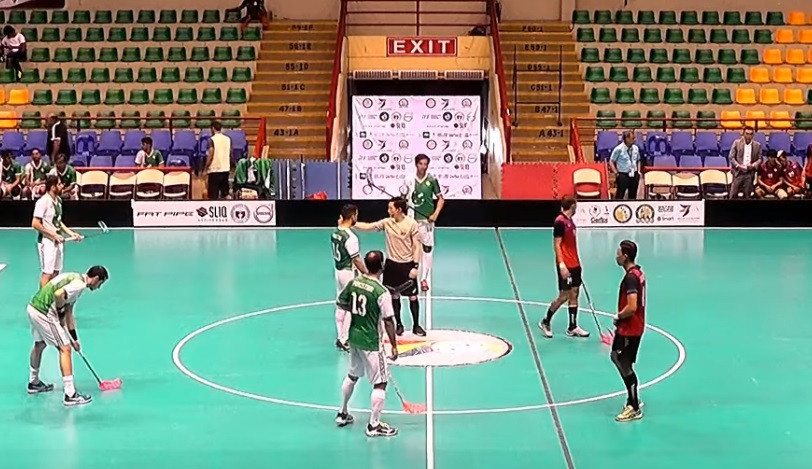 Thailand and Singapore reach semi-finals at Men's Asia Oceania Floorball Confederation Cup