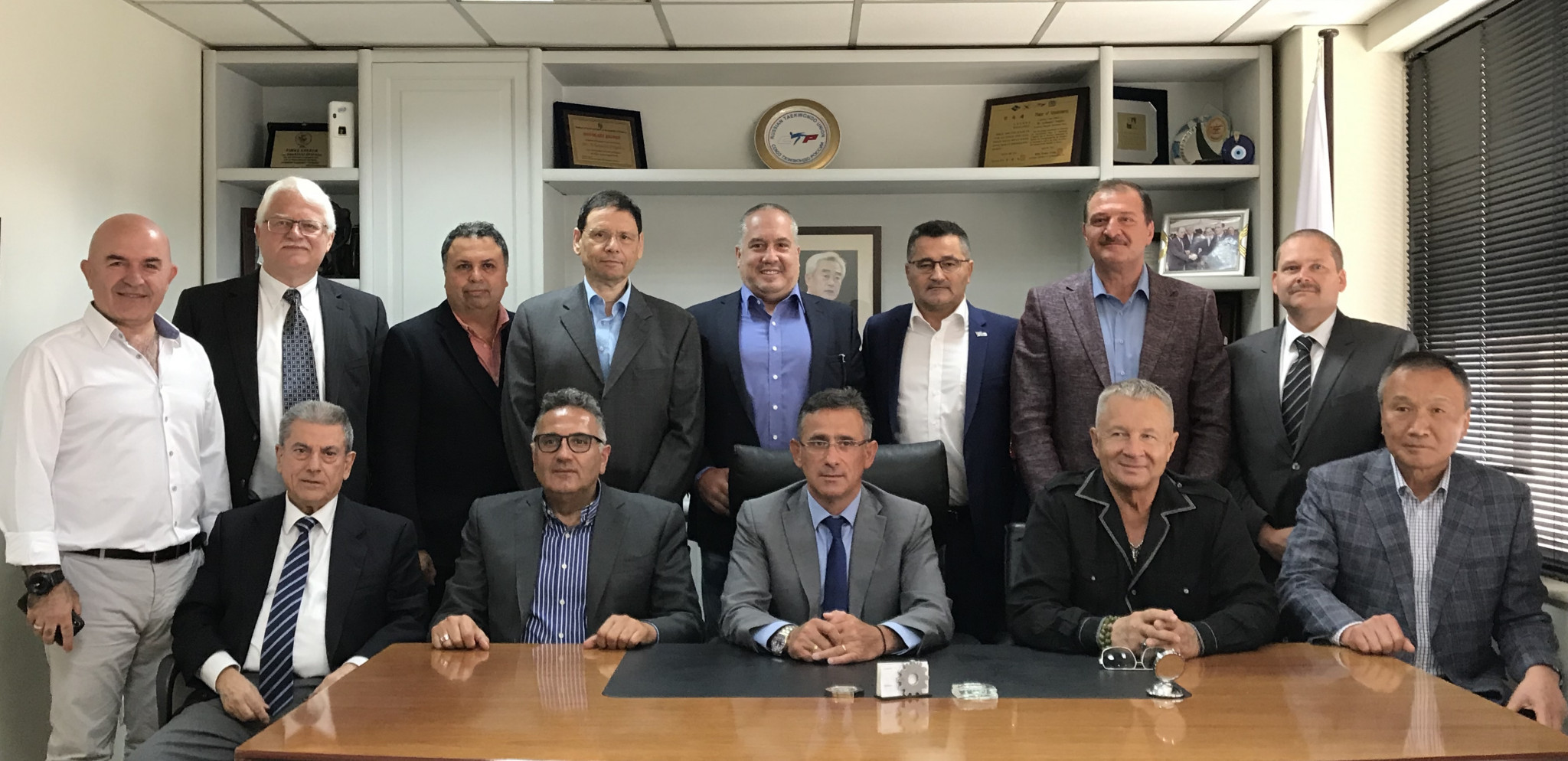 World Taekwondo Europe made a series of decisions in Athens ©WTE