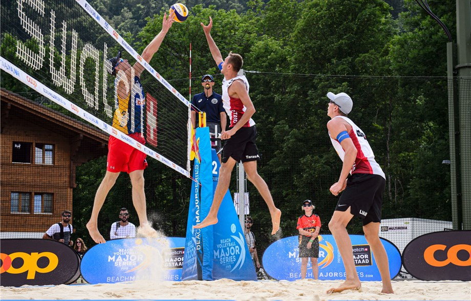 Eight teams from seven nations advance to men's main draw at FIVB Beach World Tour event in Gstaad