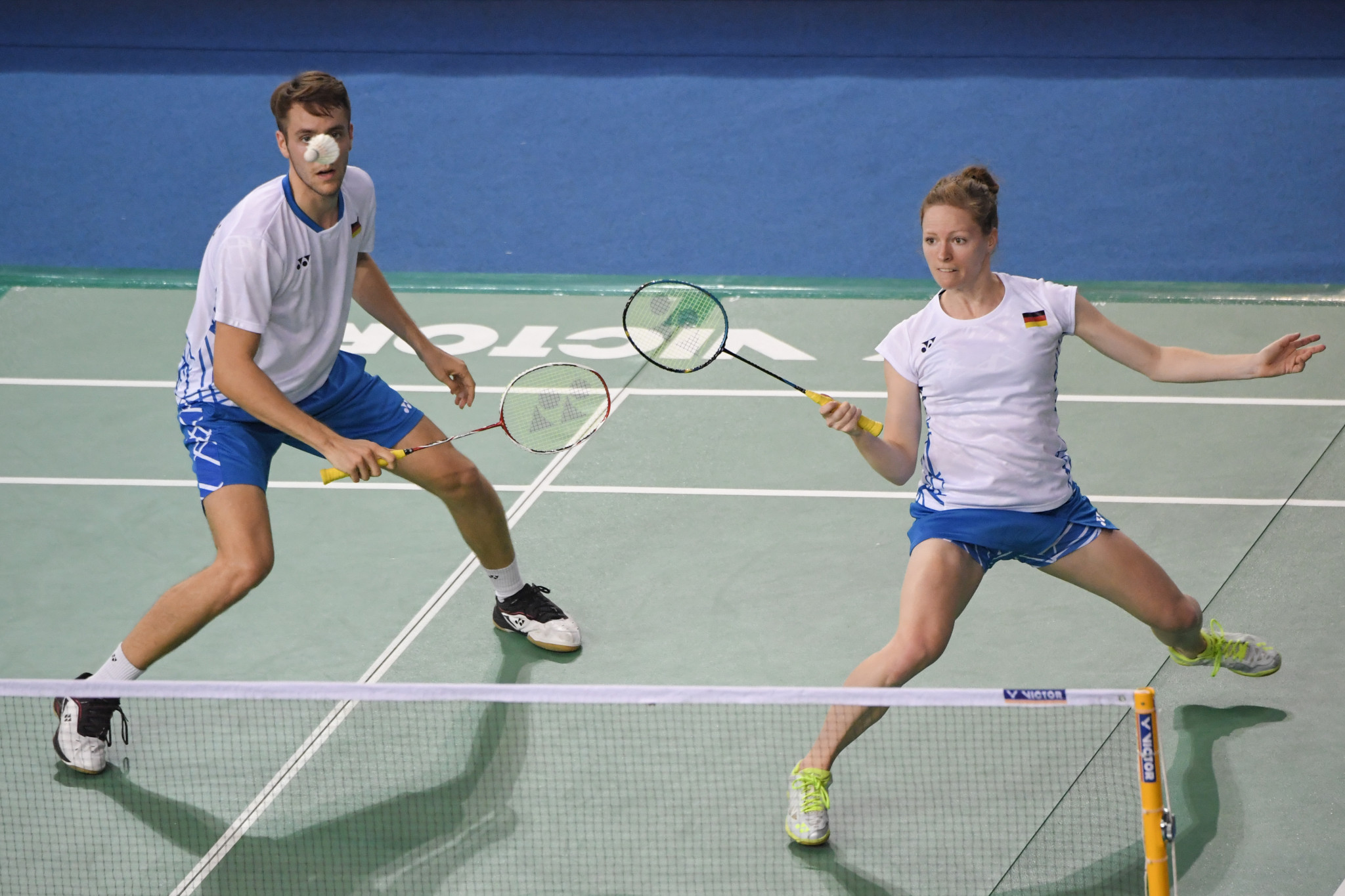 Top mixed doubles seeds too strong for 62-year-old opponent as BWF US Open begins