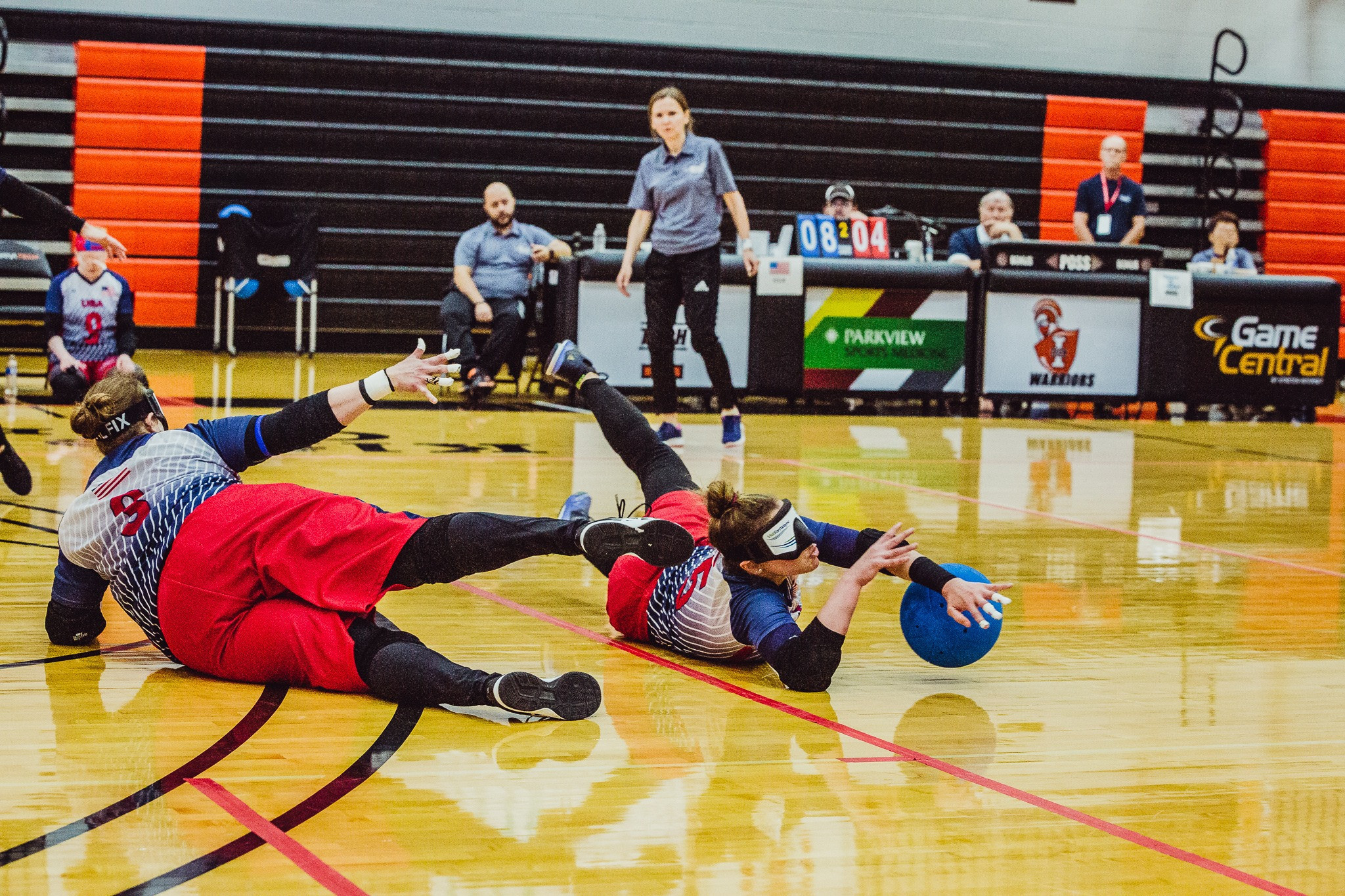 The United States women missed out on gold at their home tournament but can take comfort from Paralympic qualification ©IBSA