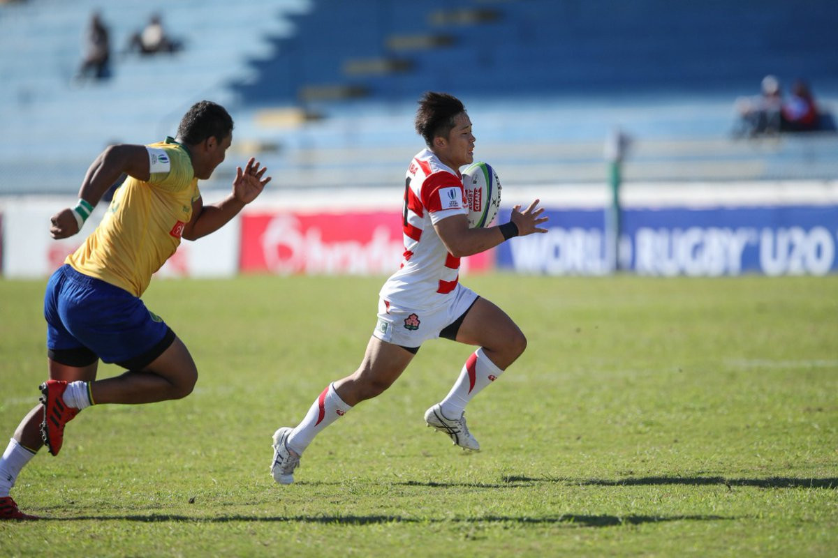 Japan beat hosts Brazil on day one of the tournament ©World Rugby