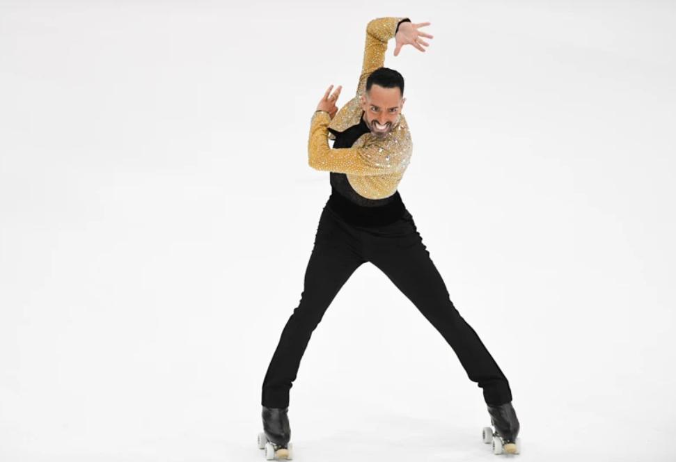 Daniel Morandin became a five-time solo dance world champion ©World Skate