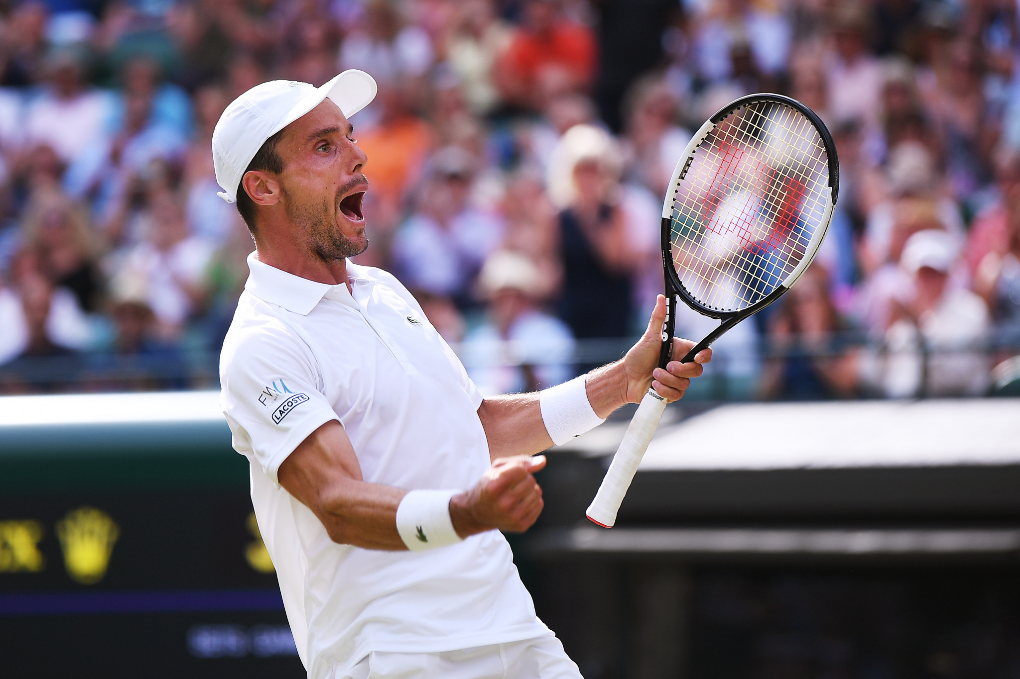 His opponent in the last four will be Spain's Roberto Bautista Agut, who is through to his first Grand Slam semi-final ©Getty Images