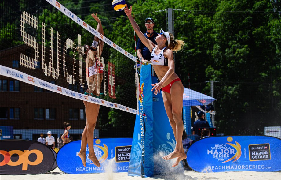 FIVB Beach World Championship finalists survive opening-day scares at Tour event in Gstaad