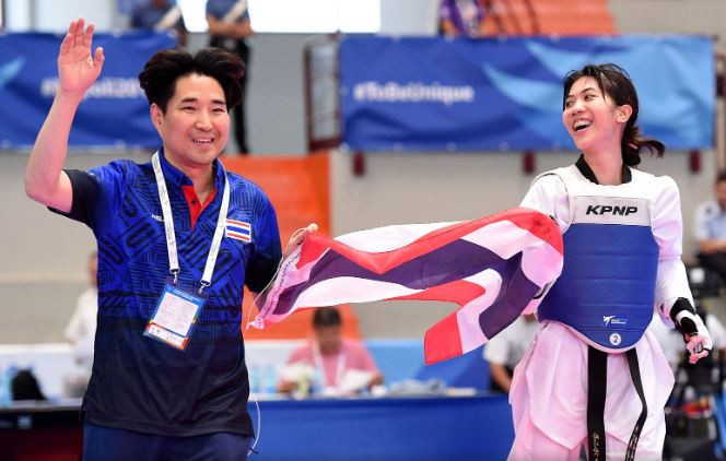Wongpattanakit adds Universiade crown to world taekwondo titles with commanding under-49kg victory