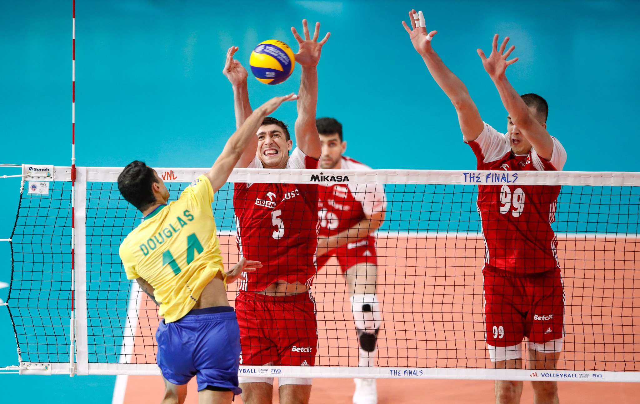 Poland won an epic contest against Brazil ©Getty Images