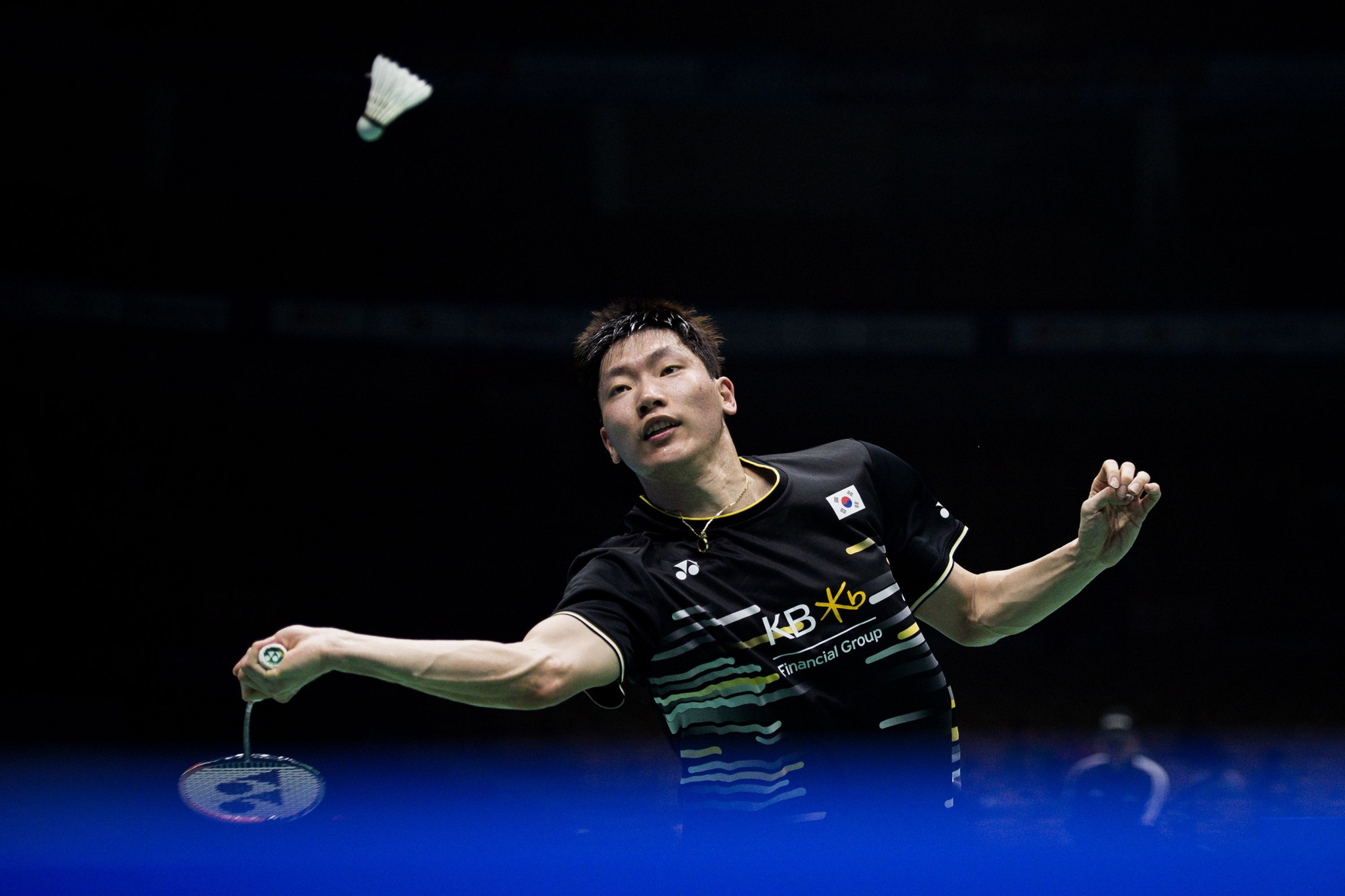 Top men's seed safely through but others dumped out at BWF US Open