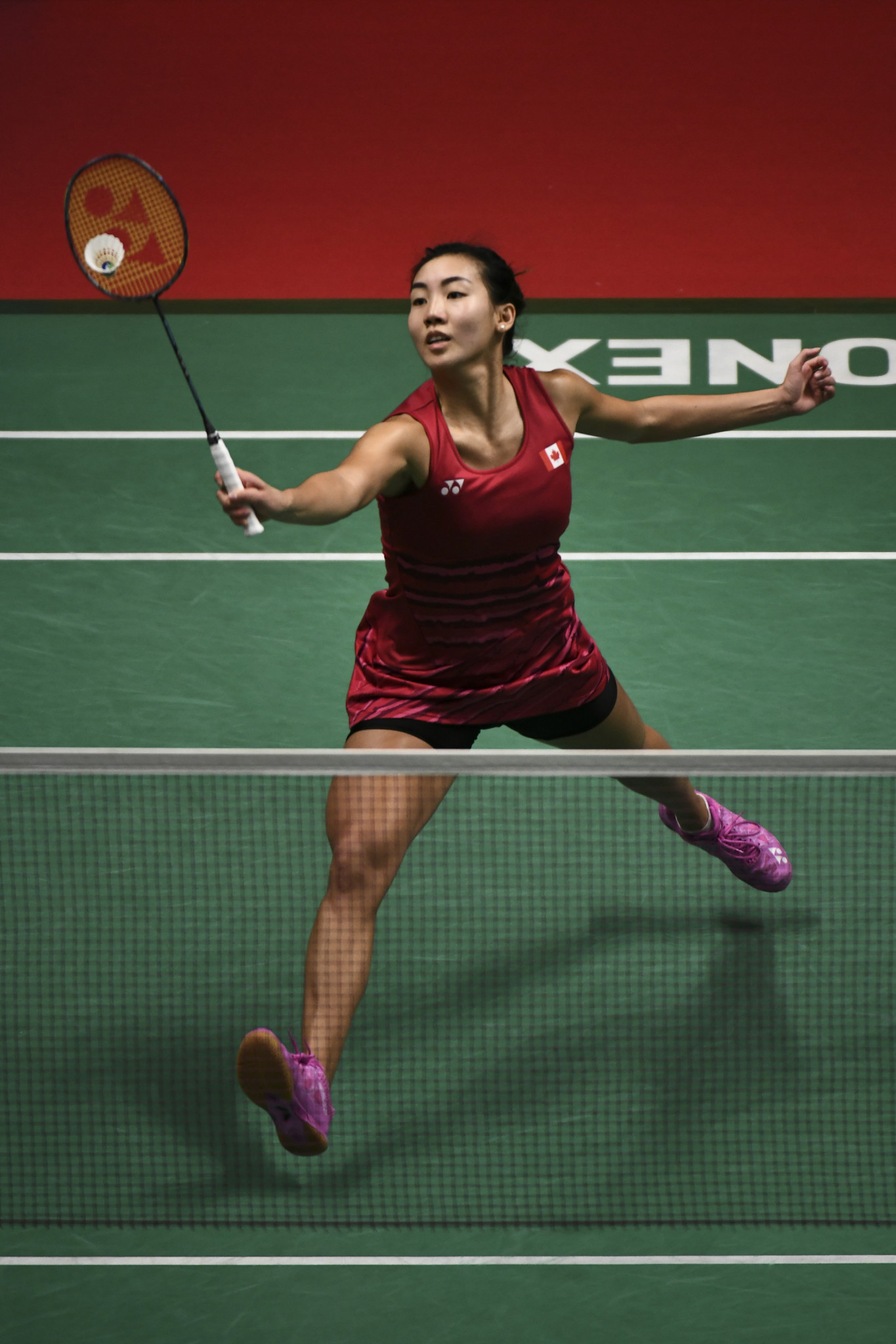 Canada's women's top seed Michelle Li is safely into the next round ©Getty Images