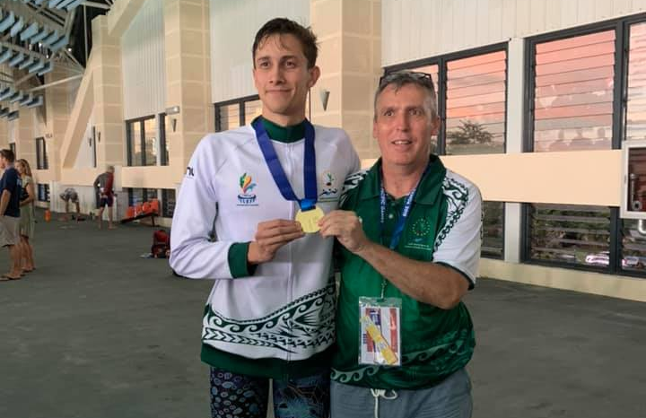Cook Islands win maiden Pacific Games swimming gold as Fiji and New Caledonia earn multiple titles