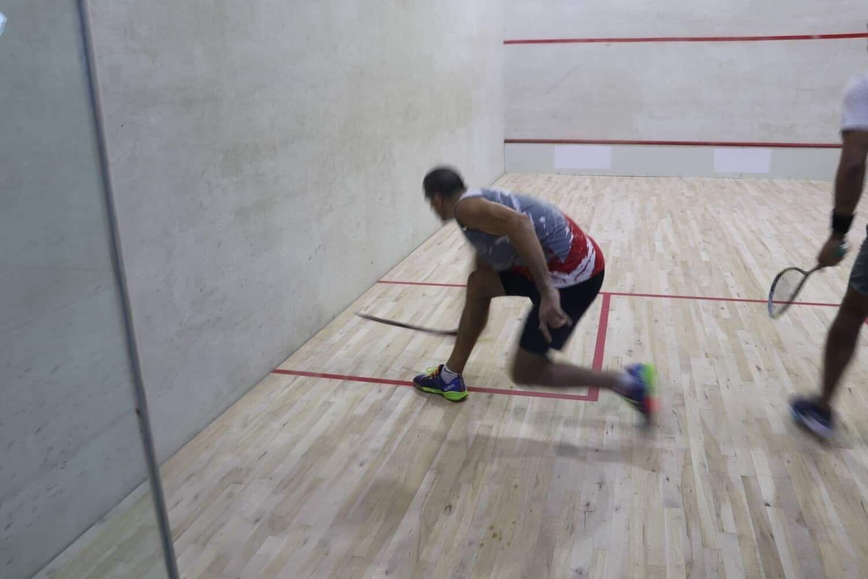 New Caledonia won double gold in the team squash finals ©Samoa 2019/Fale Siaosi