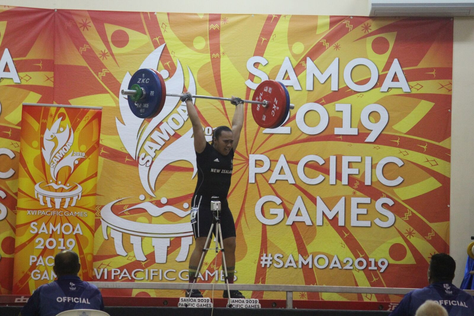 Weightlifting and squash among medal events on day four at 2019 Pacific Games