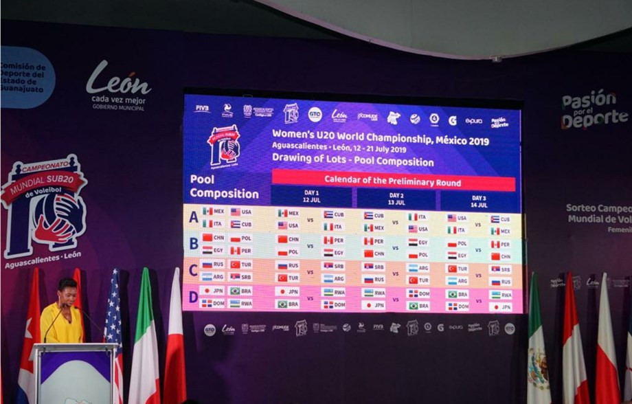 The FIVB Women's Under-20 World Championship is due to begin tomorrow in Mexico ©FIVB