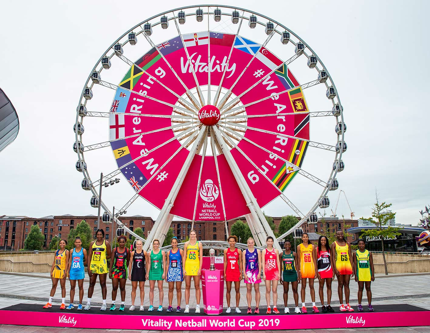 Stage set for Netball World Cup in Liverpool as hosts bid for first title