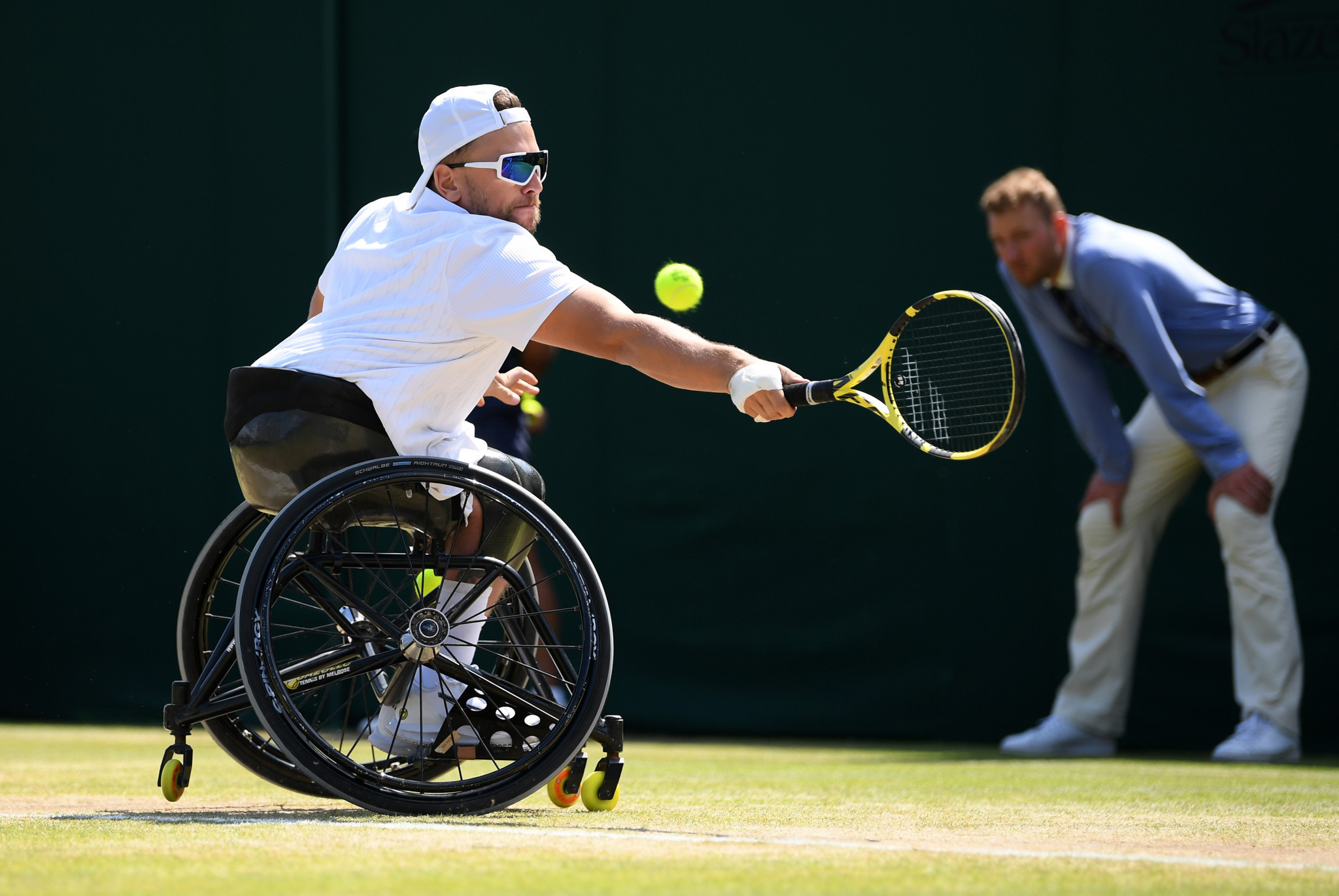 Alcott and Lapthorne through to final as quad wheelchair tennis makes competitive debut at Wimbledon