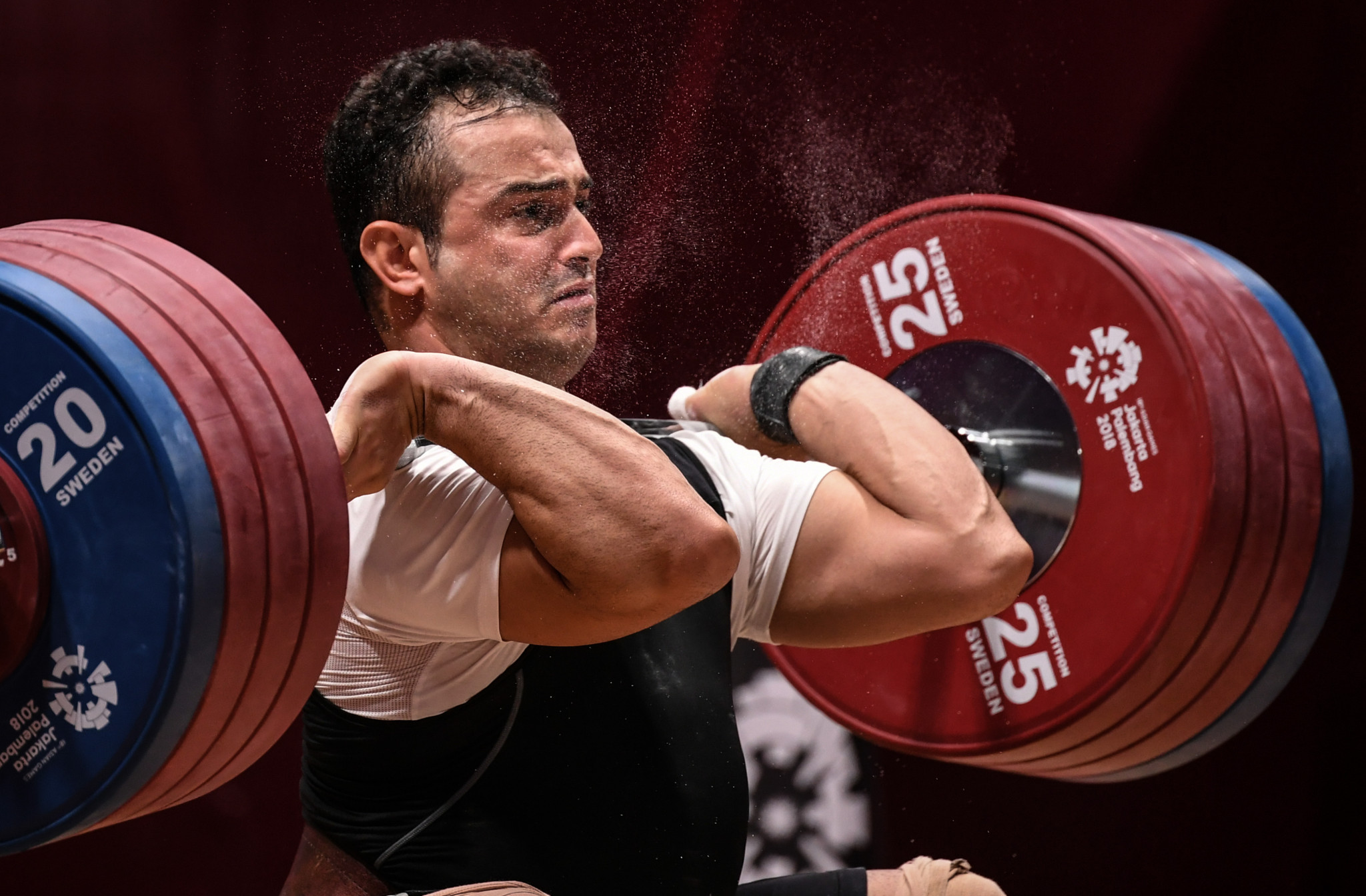 Sohrab Moradi is out of the IWF World Championships ©Getty Images