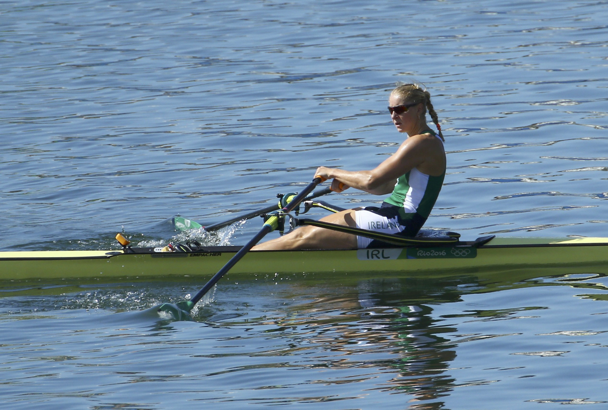 Reigning world and European champion Sanita Puspure of Ireland is one of the star female names in the field ©Getty Images