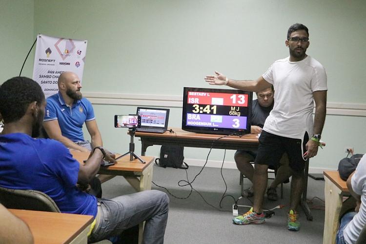FIAS holds sambo referee seminar in Dominican Republic
