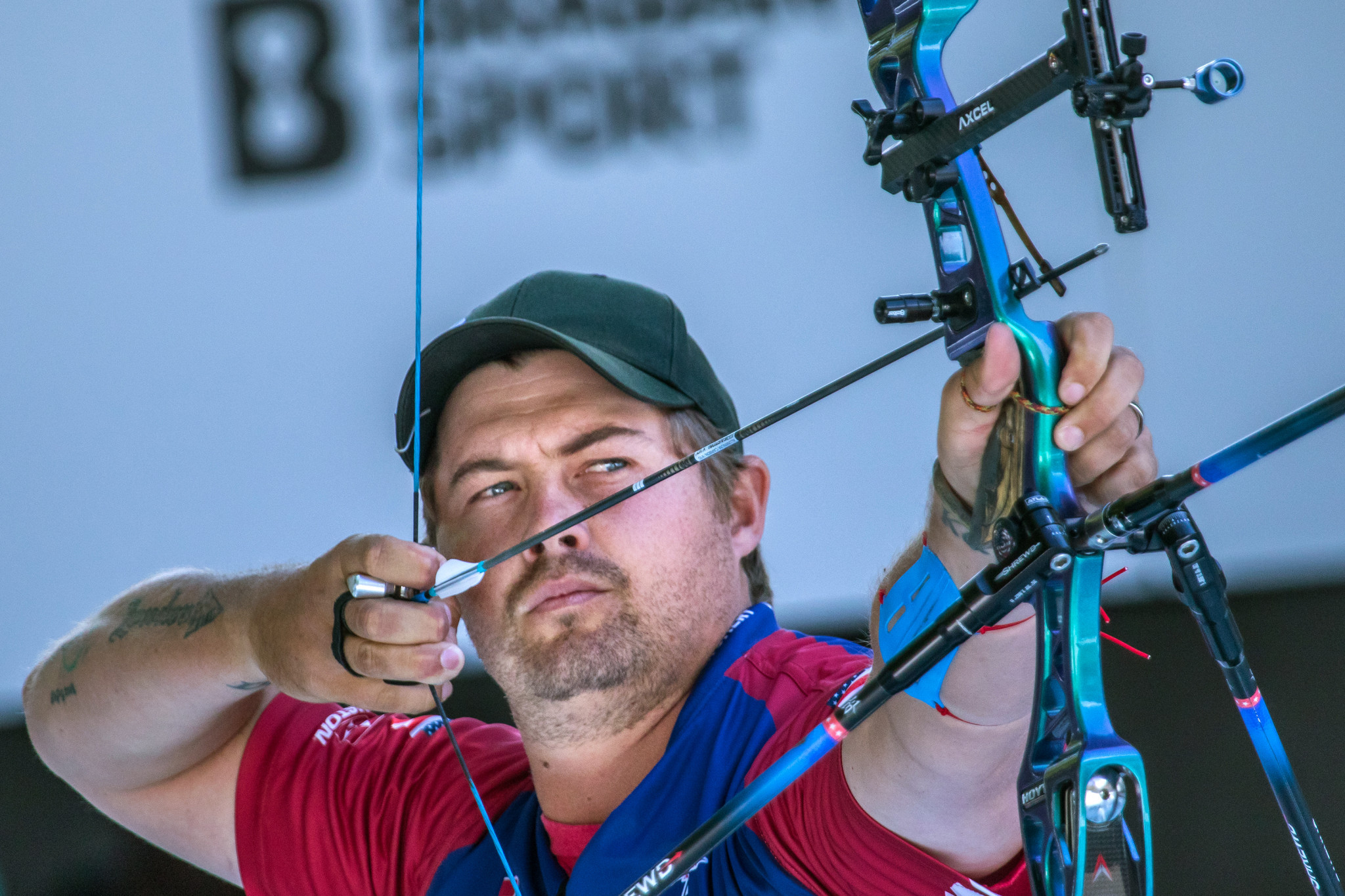 Brady Ellison became the first American man to win the recurve gold medal at the World Championships since 1985, an achievement recognised in the United States Olympic and Paralympic Committee Best of June awards. ©Getty Images