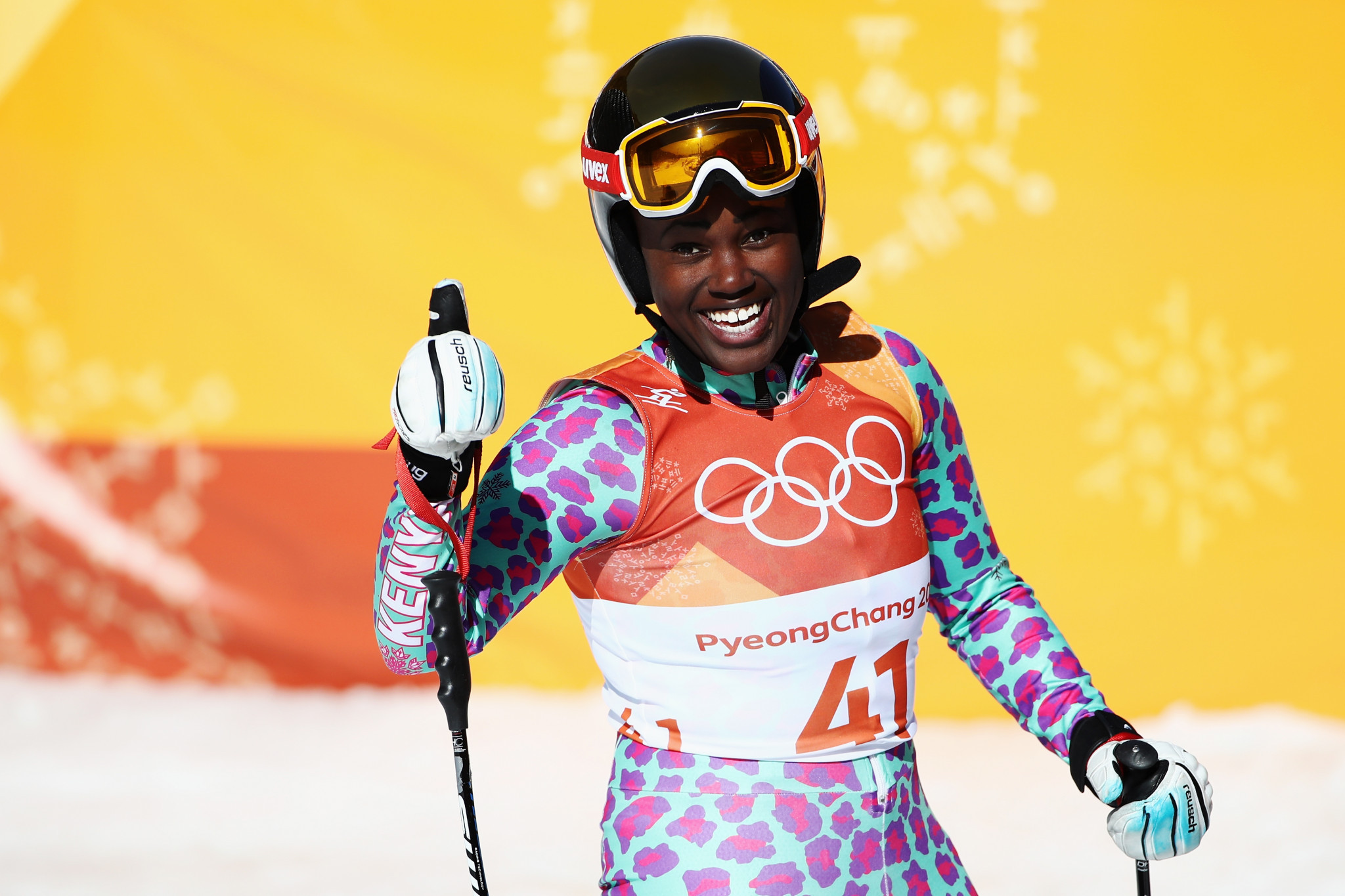 Alpine skier Sabrina Wanjiku Simader has received a boost in her bid to compete at the 2022 Winter Olympics in Beijing ©Getty Images