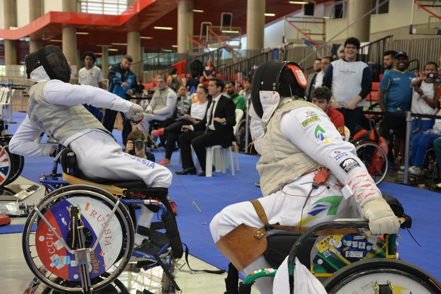 China win two gold medals on day one of IWAS Wheelchair Fencing World Cup