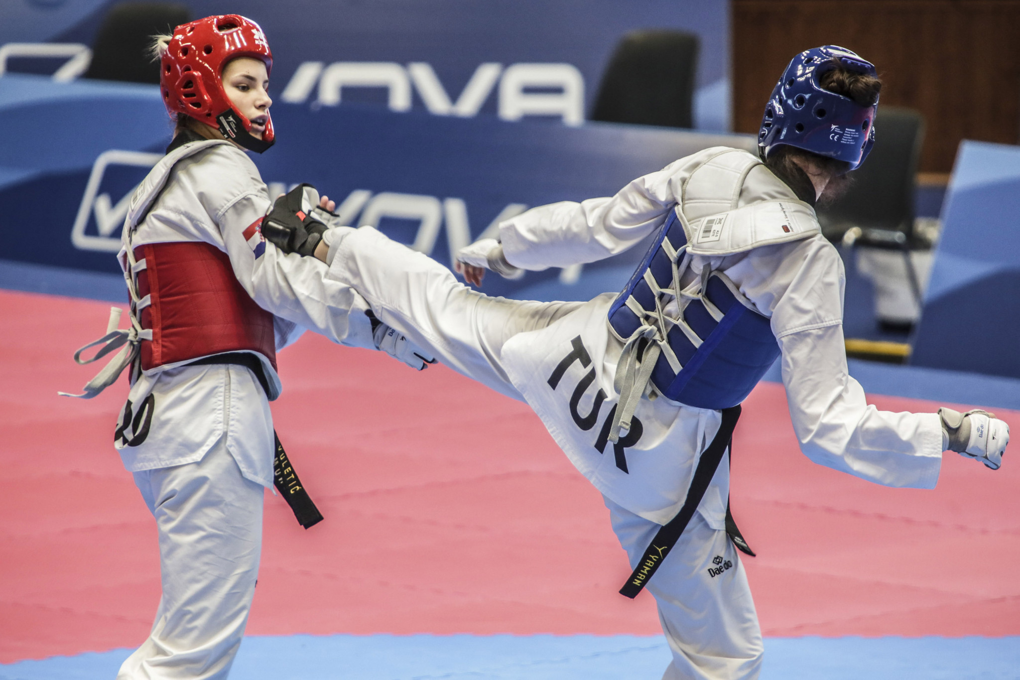 Two-times world champion Irem Yaman then triumphed in the women's under-62kg, collecting her third Universiade medal ©Naples 2019