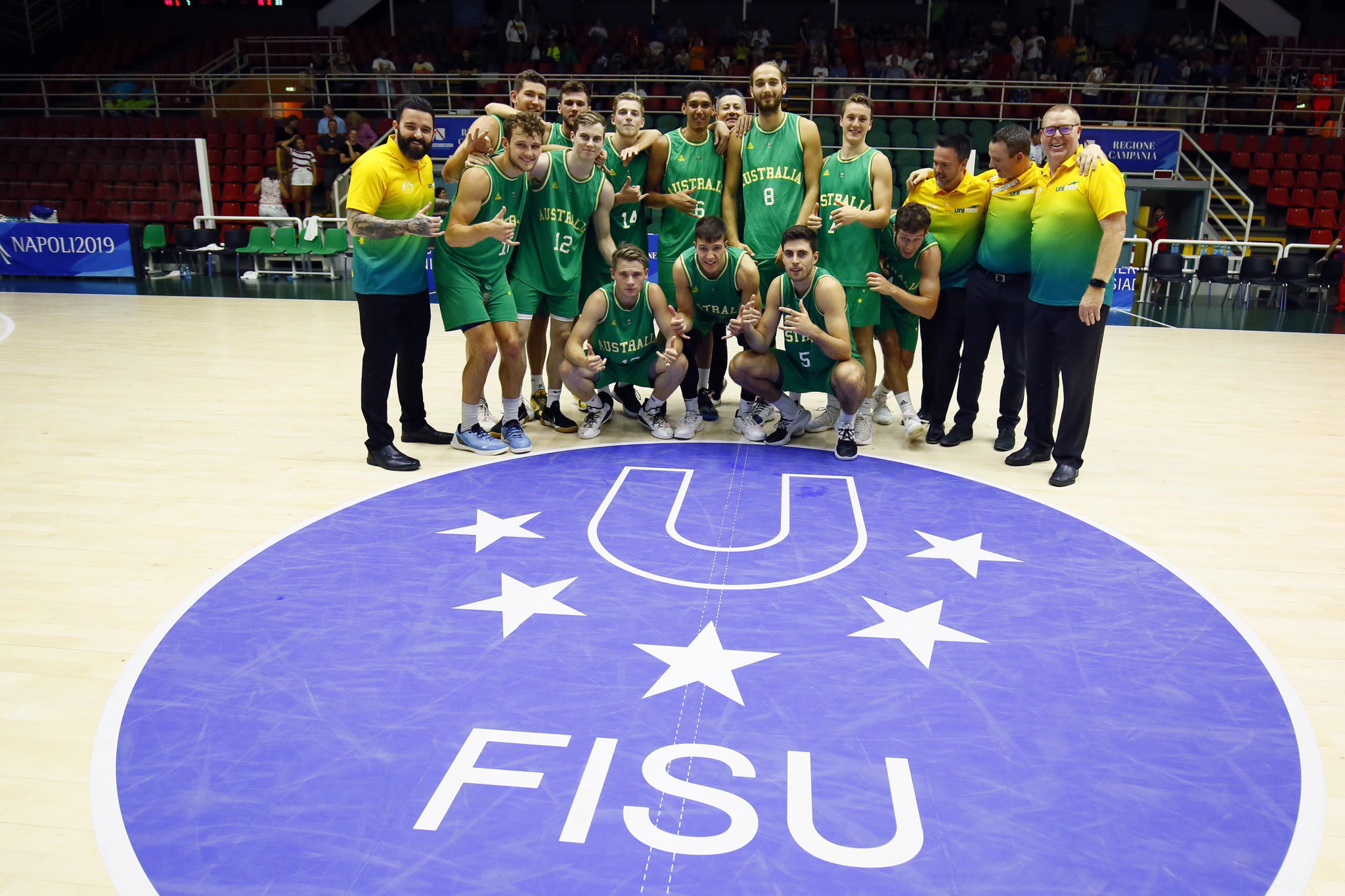 Australia claimed the bronze medal with victory against Israel ©Naples 2019