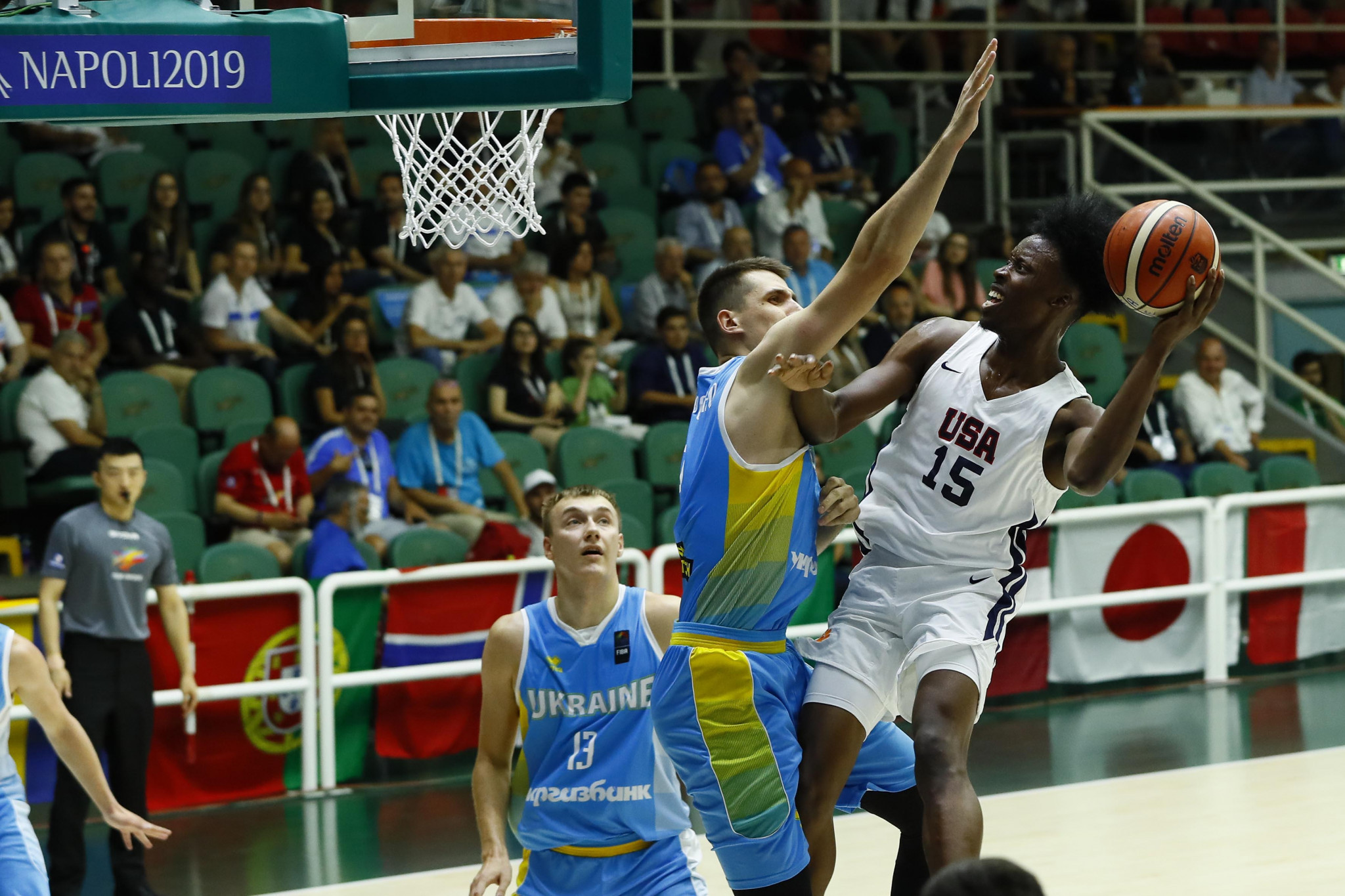 The US were the winners, triumphing 85-63 ©Naples 2019