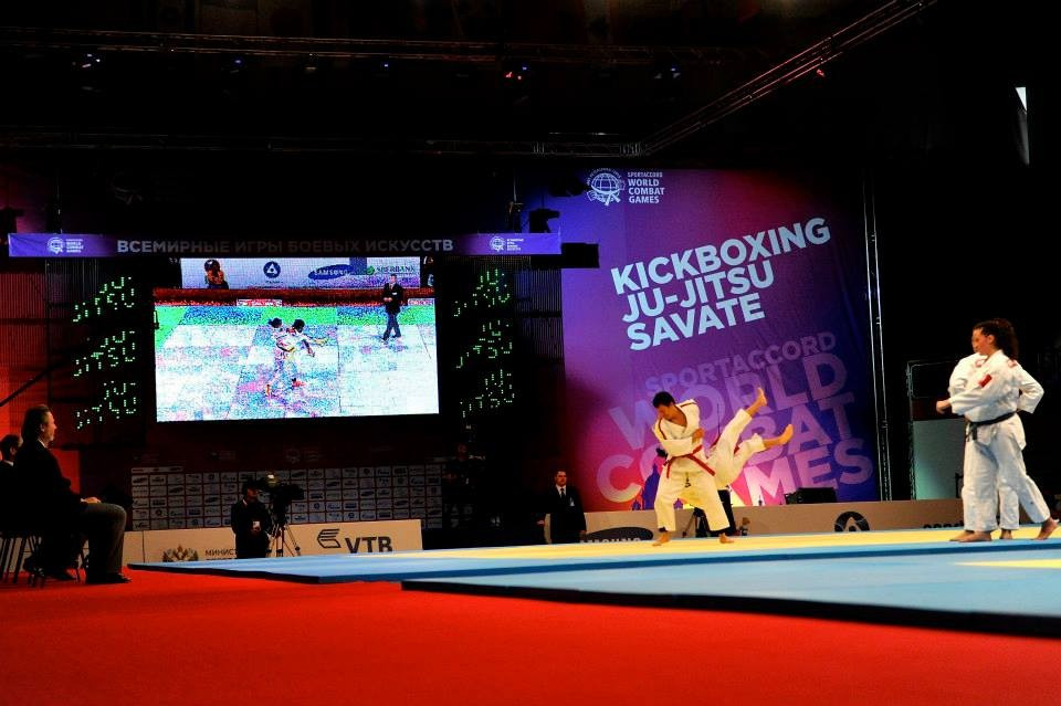 The World Combat Games, organised by SportAccord, were last held in St Petersburg in 2013